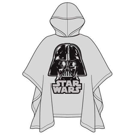 Waterproof Star - Star Wars Youth Poncho Raincoat Star Wars Darth Vader, Clear