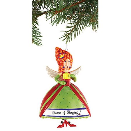 Holiday Angel Bell Tree Ornament - Angel Bell Necklace