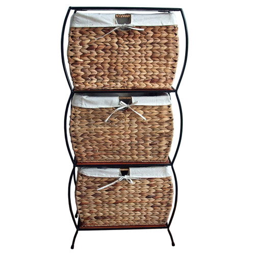 pangaea home and garden seagrass basket storage pangaea three drawer kitchen base cabinets kitchen xcyyxh com
