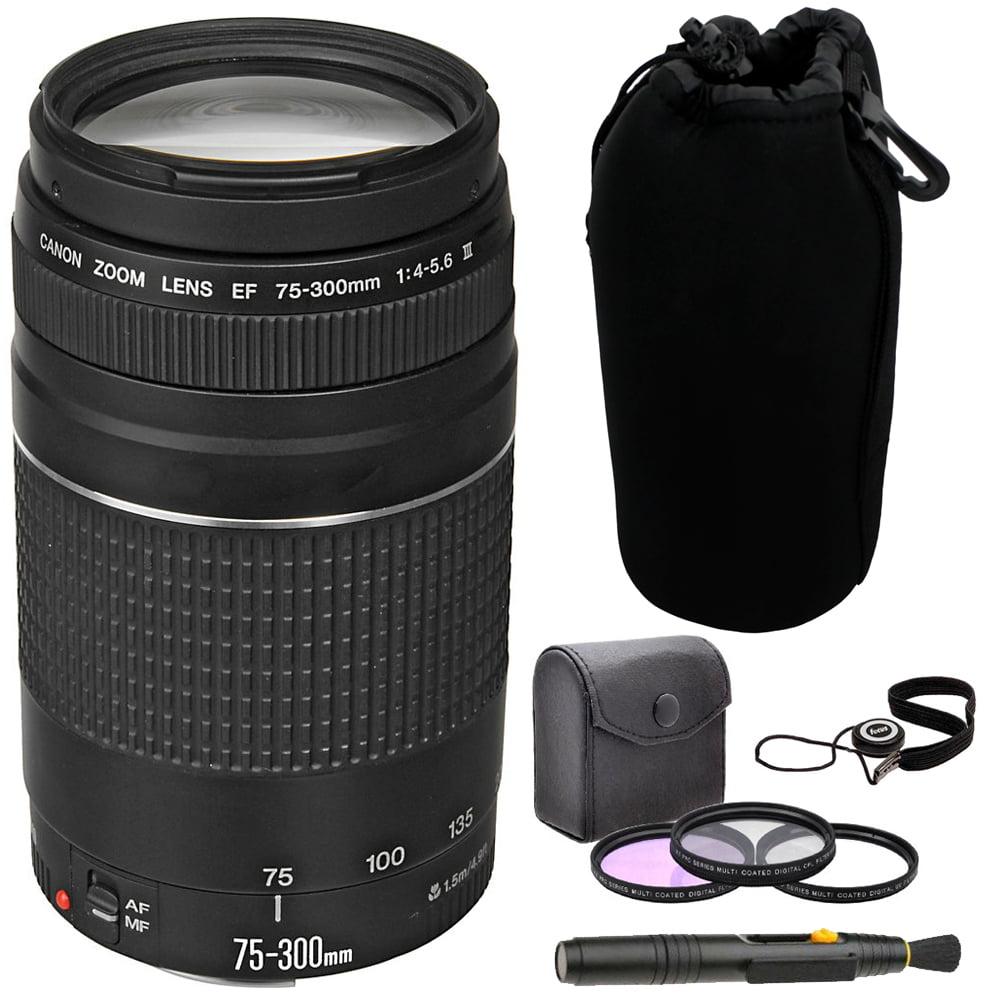 FLD Fluorescent Natural Light Color Correction Filter for Canon EF 75-300mm f//4-5.6 III USM Lens