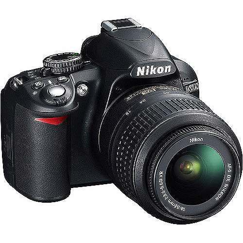 "Refurbished Nikon D3100 14.2MP DSLR Camera with 18-55mm VR Lens  3"" LCD  HD Video"