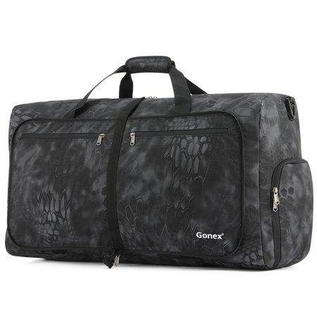 Camp Duffle Bag, Gonex Packable Lightweight Travel Duffel Water & Tear Resistant, 80L,
