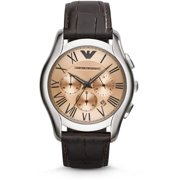 AR1785 Emporio Armani Classic Leather Chronograph Mens Watch
