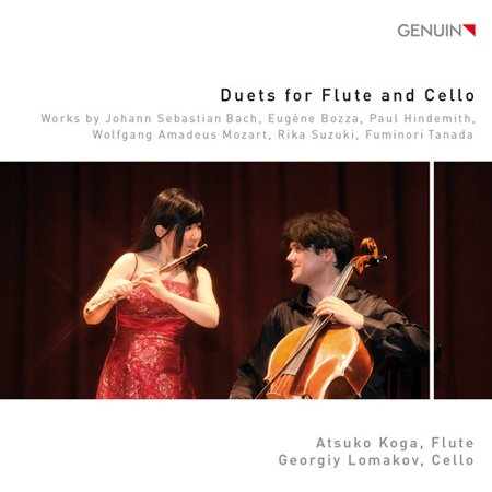 Duets for Flute & Cello (CD)