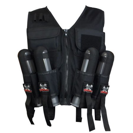 maddog lightweight paintball sport vest - black (Swat Vest Paintball)
