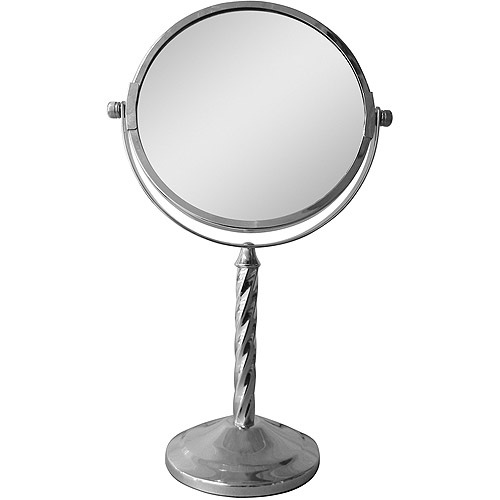 Freestanding Bath Magnifying Makeup Mirror by Generic