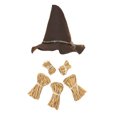 Nicky Bigs Novelties Scarecrow Costume Kit,Brown,One Size - Cheap Scarecrow Costume