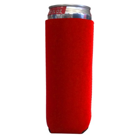 Neoprene 12 Ounce Slim Can Cooler - Custom Neoprene Koozies