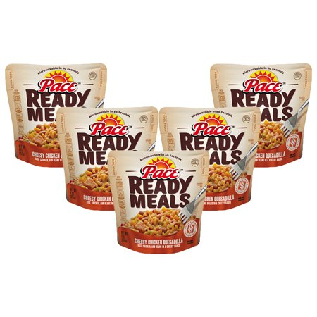 (5 Pack) Pace Ready Meals Cheesy Chicken Quesadilla, 9 oz.