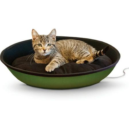 "K Pet Products Thermo-Mod Sleeper, Medium, Green/Black, 23"" x 16"", 4 Watts"