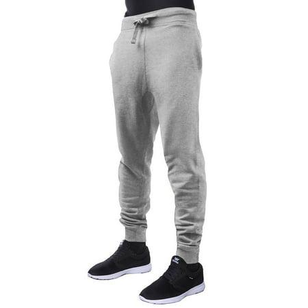 Ma Croix Mens Basic Jogger Pants Fleece Slim Fit Sweatpants Comfort Sport Activewear