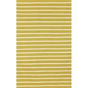 Liora Manne Sorrento Pinstripe Yellow/Ivory Indoor/Outdoor Area Rug