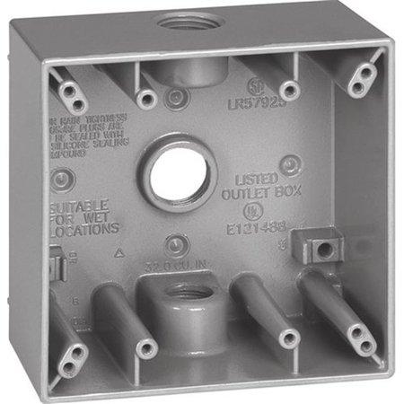 Sigma 14350 Bo-te de sortie imperm-able - l'eau pour deux groupes, gris - image 1 de 1