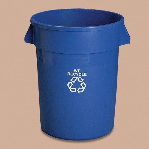 Rubbermaid Commercial Products Brute Recycle Container without Top