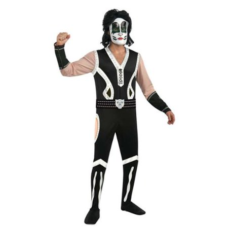 Adult Kiss The Catman Costume Rubies 880126, Extra Large (Gene Simmons Kiss Costume)