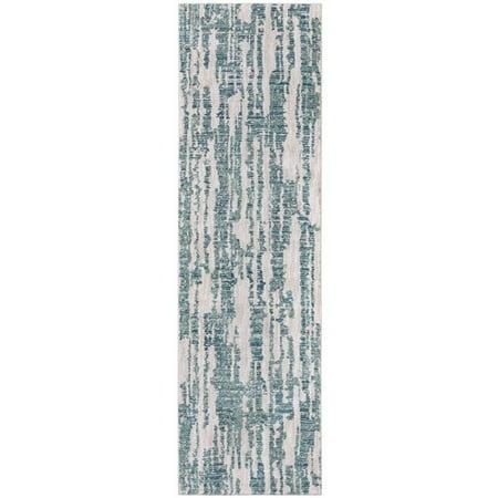 Jade Multi Blue Rug (Karastan Enigma Cypher Jade Green/Brown Area Rug )