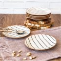 Set of 6 Better Homes & Gardens Sabin Striped Salad Plates