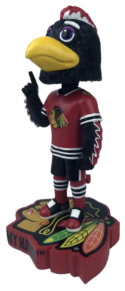 Chicago Blackhawks Mascot Nation Bobble