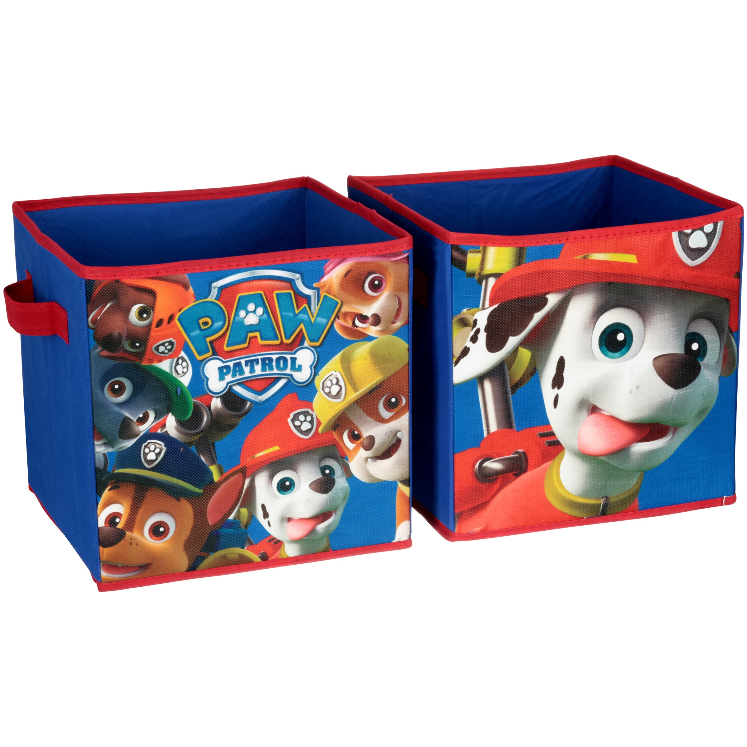 Nickelodeon Paw Patrol Collapsible Storage Cubes 2 pc Pack