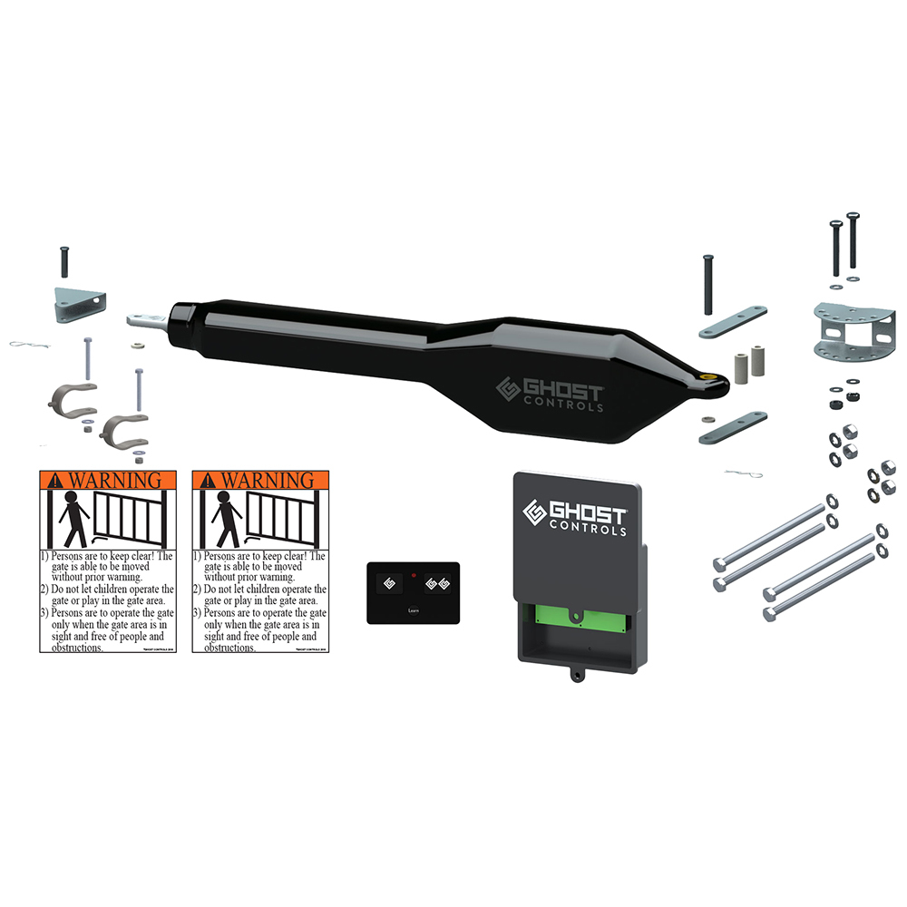 Ghost Controls   Single Automatic Gate Opener Kit