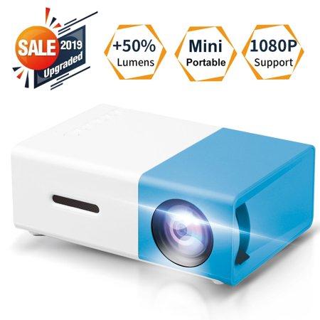 EEEkit Mini Projector Portable 1080P LED Projector Home Indoor Outdoor Movie Projectors...