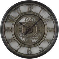 Better Homes and Gardens 20-in Gear Wall Clock