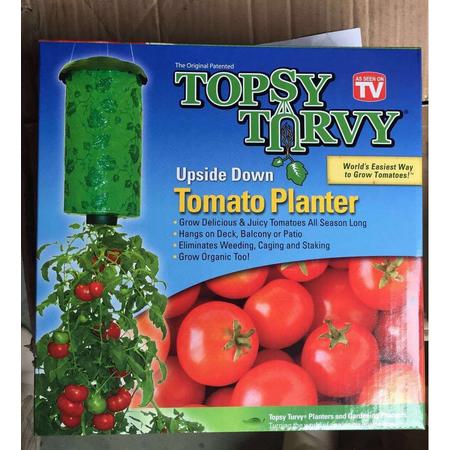 Topsy Turvy Upside Down Tomato Planter Walmartcom