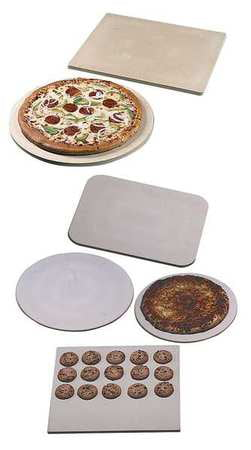 AMERICAN METALCRAFT STONE15 Pizza Stone, 15 In dia. by AMERICAN METALCRAFT