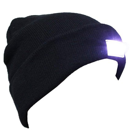 Ultra Bright Led Hands Free Unisex Lighted Beanie Power Stocking Cap Hat   12000Mcd Of Perfect Hands Free Flashlight For Hunting  Camping  Grilling  Jogging  Handyman Working