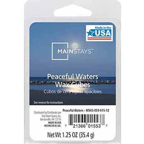 Mainstays Wax Melts, Peaceful Waters
