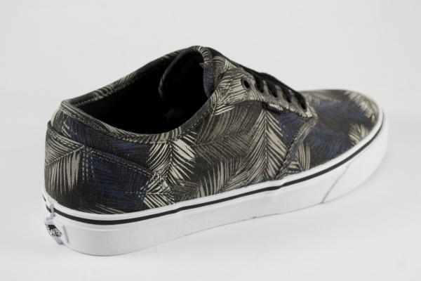 Vans Atwood Ferns Black/Gray 9.5 Men's Skate Shoes Size 9.5 Black/Gray 7d7dcf