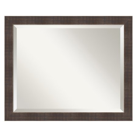 Amanti Art Whiskey Wall Mirror - 22.25W x 18.25H in.