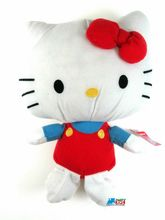 "Hello Kitty Small 7"" Plush Toy Red by Fiesta Toy"