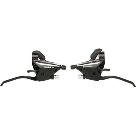 Shimano EF65 3x7-Speed Brake/Shift Lever Set Black