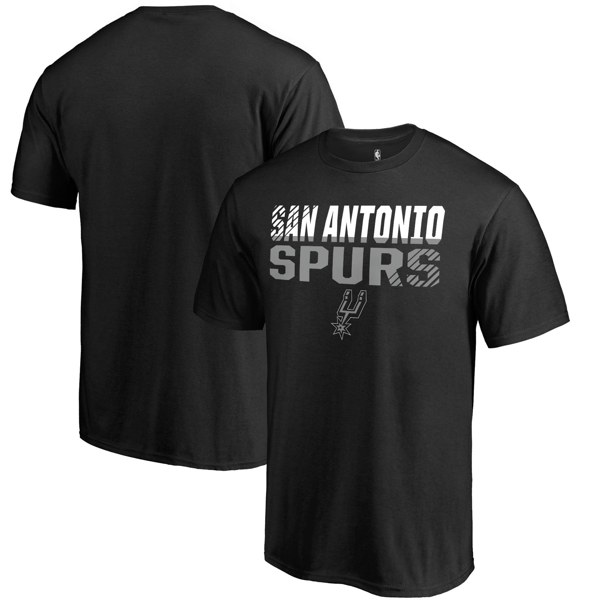 San Antonio Spurs Fanatics Branded Fade Out T-Shirt - Black