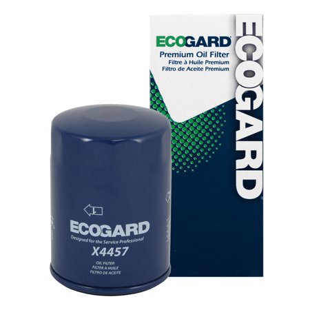 ECOGARD X4457 Spin-On Engine Oil Filter for Conventional Oil - Premium Replacement Fits Nissan D21, Sentra, Pickup, Altima, Pathfinder, Quest, 300ZX, 240SX, Maxima, 720, 200SX, Stanza, Pulsar NX, NX (Nissan Pathfinder Oil Filter)