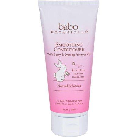 Babo Botanicals HG1519255 6 oz Detangling Conditioner Instantly Smooth Berry (Botanical Berry)