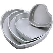 Wilton Decorator Preferred Cake Pan Set, Heart 4 ct. 2105-606