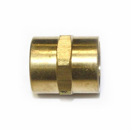 FPC660 Brass Pipe Fitting, Hex Coupling, 3/8