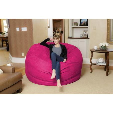 Chill Sack Giant 6 ft Bean Bag, Multiple Colors - Walmart.com
