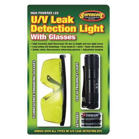 SUPERCOOL 27408 LED U/V Leak Detection Light