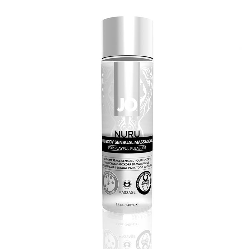 Jo Nuru Massage Gel Fragrance Free 8 Oz
