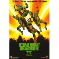 Posterazzi MOV364833 Teenage Mutant Ninja Turtles 3 Movie Poster - 11 x 17 in.
