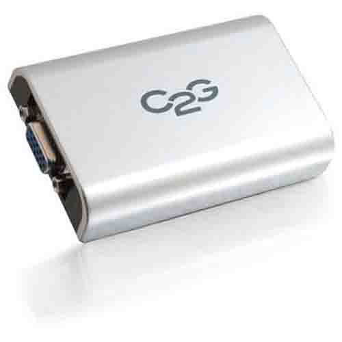 C2G USB to VGA Adapter