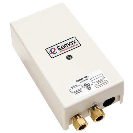 eemax ex95t 240vac electric tankless water heater