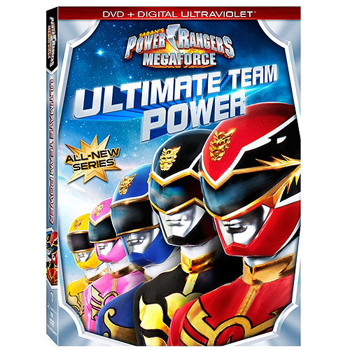 Power Rangers Megaforce: Ultimate Team Power - Volume One (DVD + Digital UltraViolet) (With INSTAWATCH) (Widescreen)