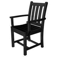 POLYWOOD Traditional Garden Patio Dining Chair (Set of 2)