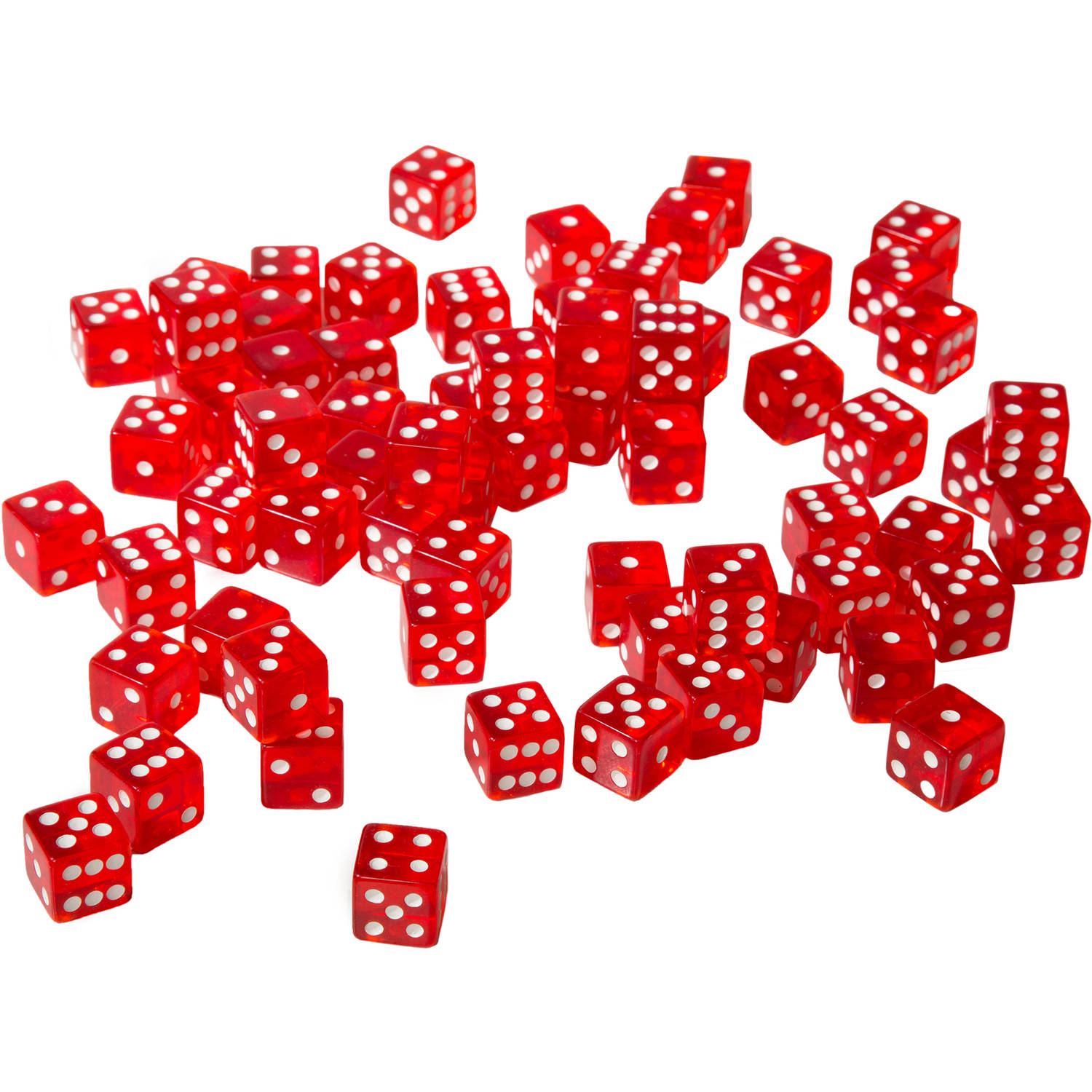 75 Red 16mm Dice