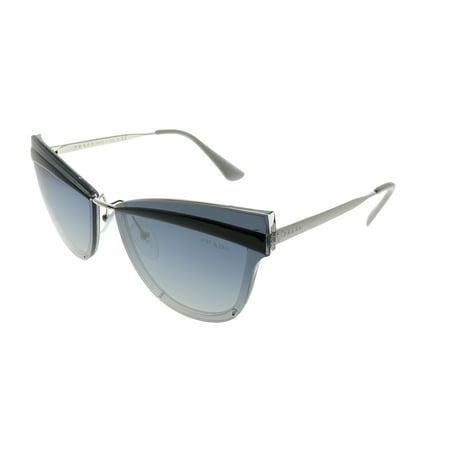 abe040b5ab1 Prada PR 12US KI53A0 Grey Cat Eye Sunglasses - Walmart.com