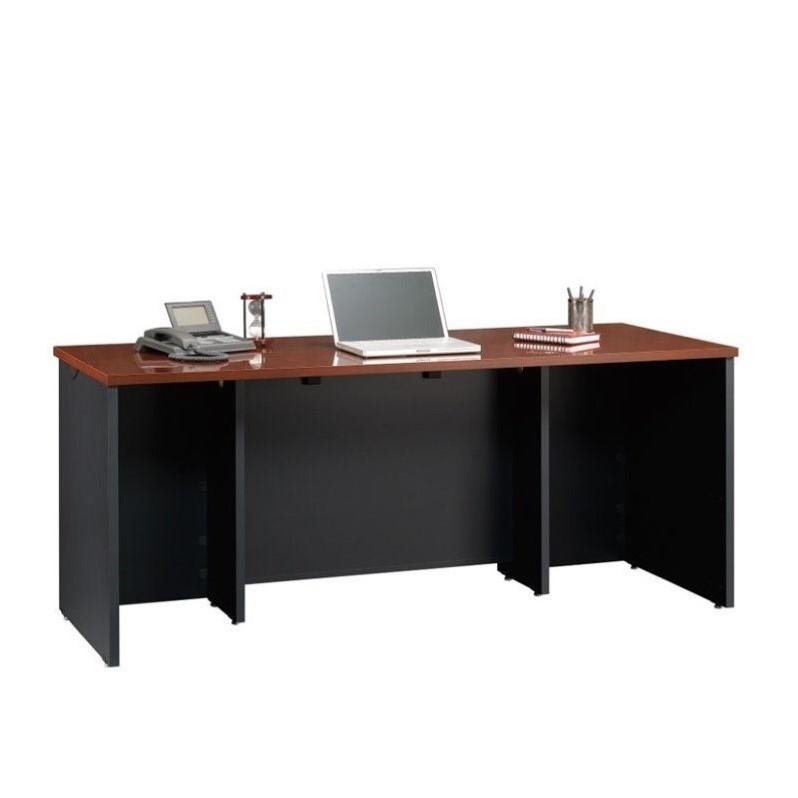 Sauder Via Executive Desk in Classic Cherry - image 3 de 8